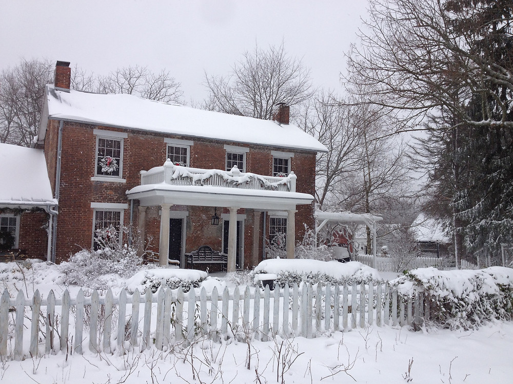 The Ward-Franzmann House circa 1840