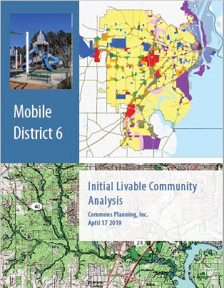 An analysis of Mobile, Alabama's Council District 6 done for Council Member Bess Rich. The analysis set goals for zoning code reform in the district.