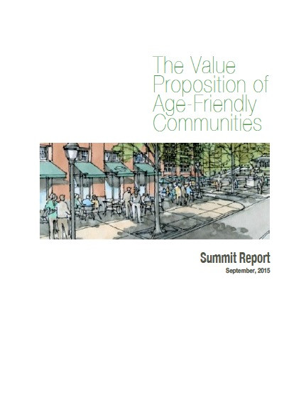 It has been stated many times that if a community can work for the young and the old, it will work for everyone. The purpose of this report is to measure the economics of this adage. What specific, quantifiable returns can be expected age-friendly communities?