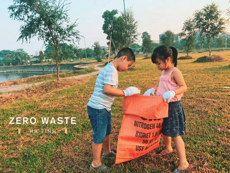 """They asked me if this movement was successful, I think yes"", said Founder of Zero Waste Ha Tinh"