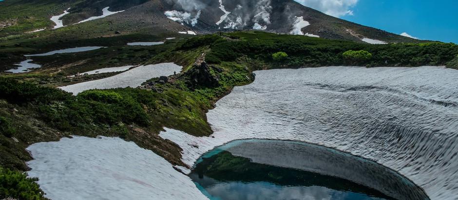 北海道一の高さ 大雪山連峰の主峰「旭岳」(車で60分)