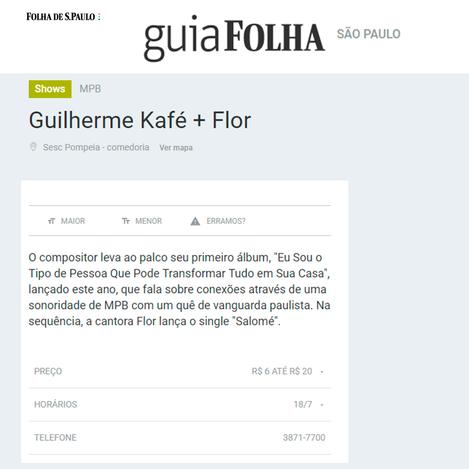 2019 - Guia da Folha
