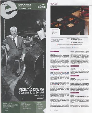 2015 - Revista Sesc