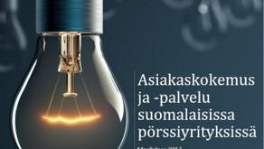 Tutkimus: Asiakaskokemus ja -palvelu suomalaisissa pörssiyrityksissä