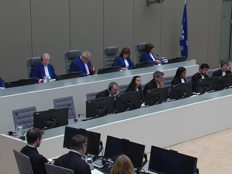 Dov Jacobs and Joshua Kern appear at the ICC in the 4 December 2019 Afghanistan Hearings