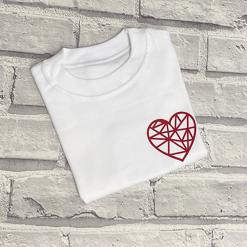 Geo heart Sweater