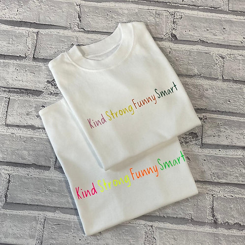 Kind Strong Funny Smart Lightweight Hoodie