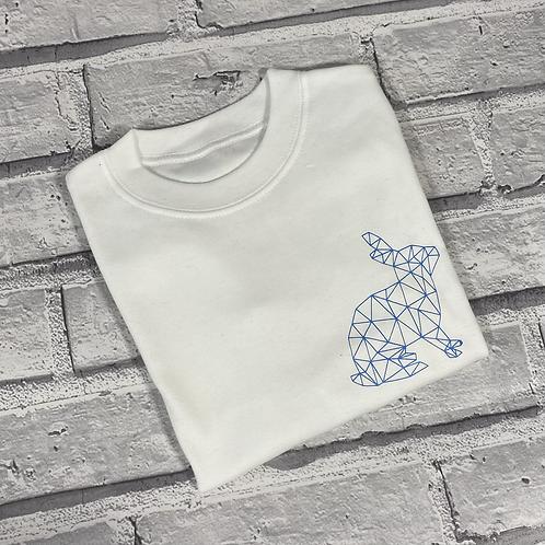 Geo Bunny T-Shirt -6-12m