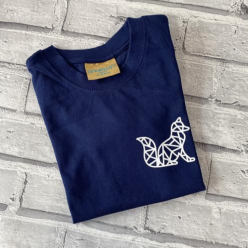 Geo Fox T-Shirt -2-3y
