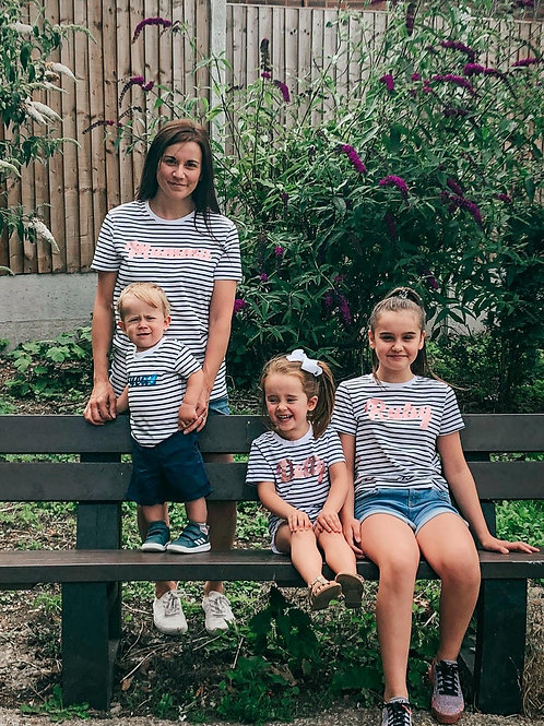 Stripy T-Shirts - Adults