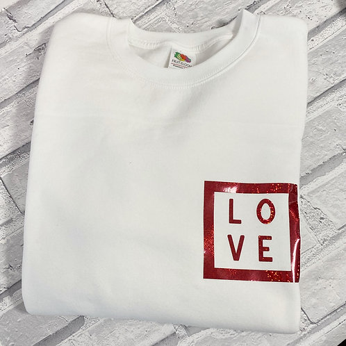 Love Sweater 12-13y