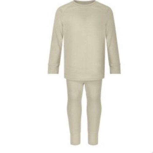 Oatmeal Loungewear Top - 1-2y