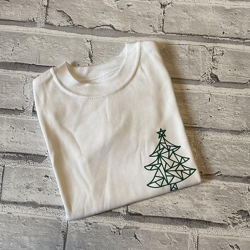 Geo Tree T-Shirt -7-8y