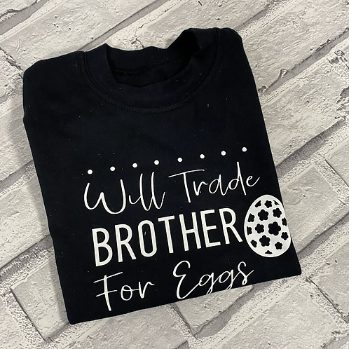 Will Trade Brother T-Shirt -2-3y