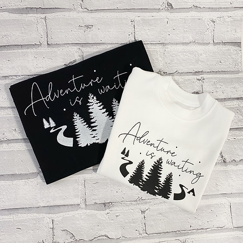 Adventure Is Waiting Sweater