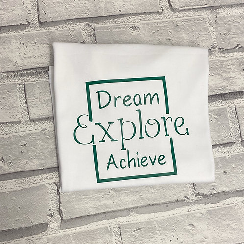 Dream. Explore. Achieve Sweater