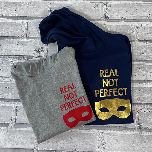 Real Not Perfect Lightweight Hoodie