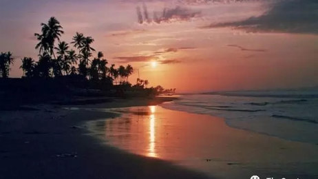 Landscape- Beach at Night