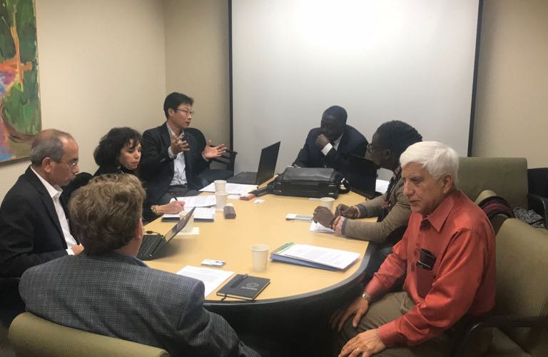 King Ohene at FD Univ Meeting