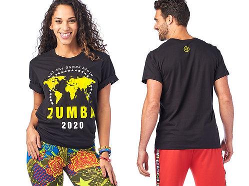 Zumba 2020 Tee, Size M/L
