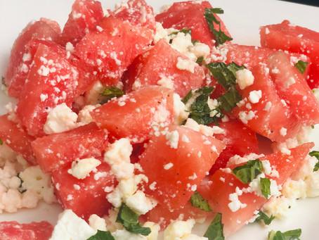 Summer Fresh Watermelon Salad