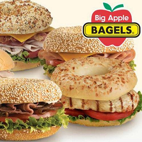 $20 Big Apple Bagels Gift Card