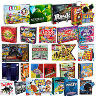 Assortment of games