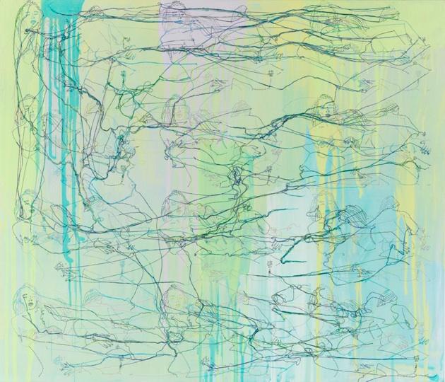 Green Paradise, 2008, 36x42