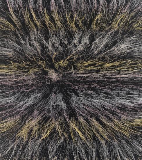 The Black Bang, 2010, 72x64po