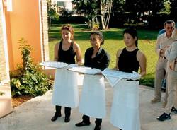 Peace Garden-2, 2002, Installation at Miami Beach Botanical Garden