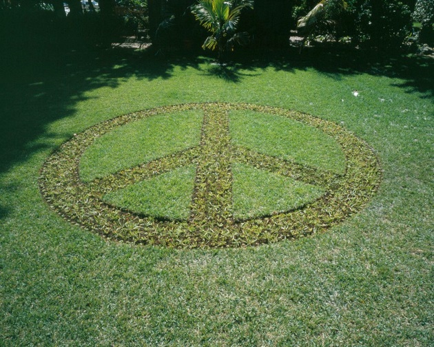 Peace Garden, 2002, Installation at Miami Beach Botanical Garden