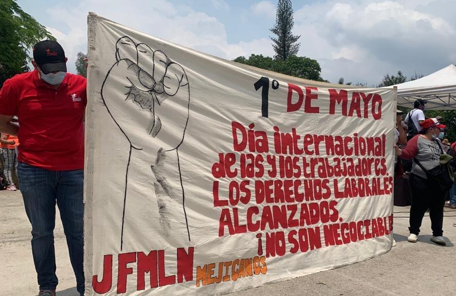 Uno de mayo, día internacional de las y los trabajadores.