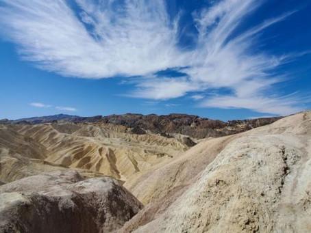 El Valle de la Muerte en EE. UU. rompió anteayer record de la  'temperatura más alta de la Tierra'