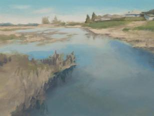Champ inondé, Varennes