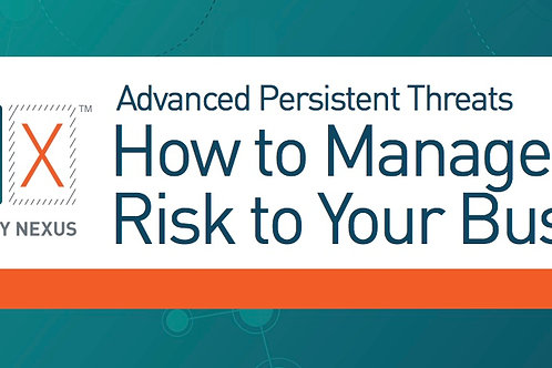 How to Manage the Risk to Your Business