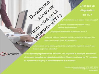 Diagnóstico Rápido de Tecnologías de la Información (T.I.)