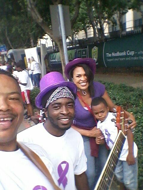 Purple Day Selfie