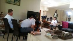 Max gets interviewed