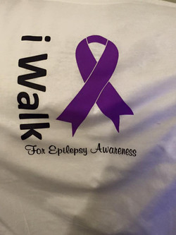 Purple Walk T-shirts