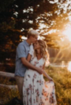 Chelsea Jessop photography Mountains natural light couples portrait nature photograph; lake; sun rays; engagements