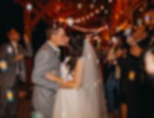 Chelsea Jessop photography couple kissing during wedding bubbles exit