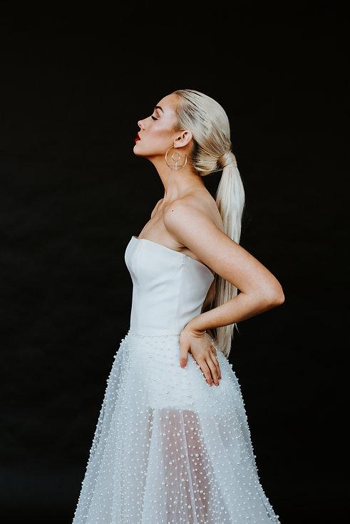 Chelsea Jessop photography portrait shot in white dress