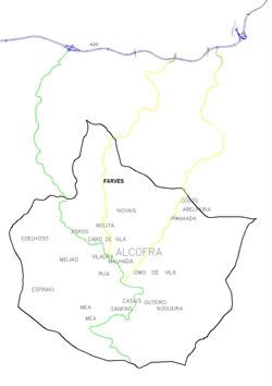 Mapa de Alcofra