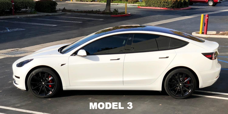 Tesla Model 3 Tint Front Windshield Mazda3 Club