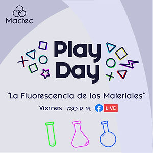 Play Day#6: La Fluorescencia de los Materiales