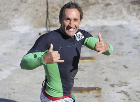Notre ambassadeur sportif Pilou Ducalme, surfeur de grosses vagues, Guéthary Pays Basque