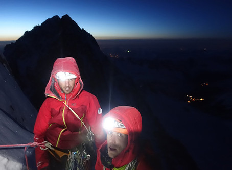 Notre ambassadeur sportif, Pierre Sancier, Chef du groupe militaire de haute montagne, Chamonix