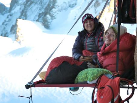 Notre ambassadeur sportif paraplégique Vanessa François, alpiniste, Chamonix