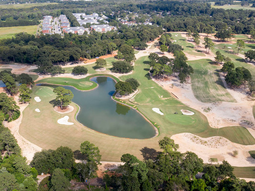 Sept. 6: Aerials from around the course