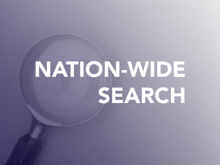 Nation-wide Search Begins For Next Two Members Of Senior Leadership Team